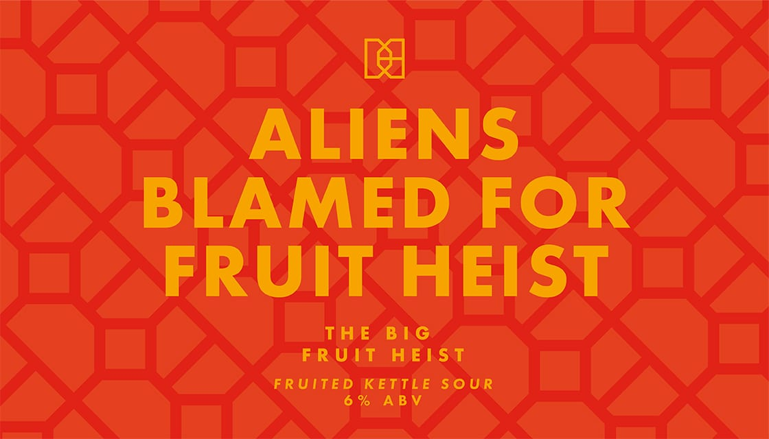 Fruit Sour craft beer graphic