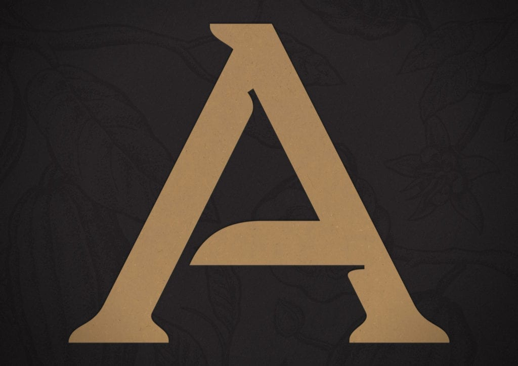 Choco Letter A