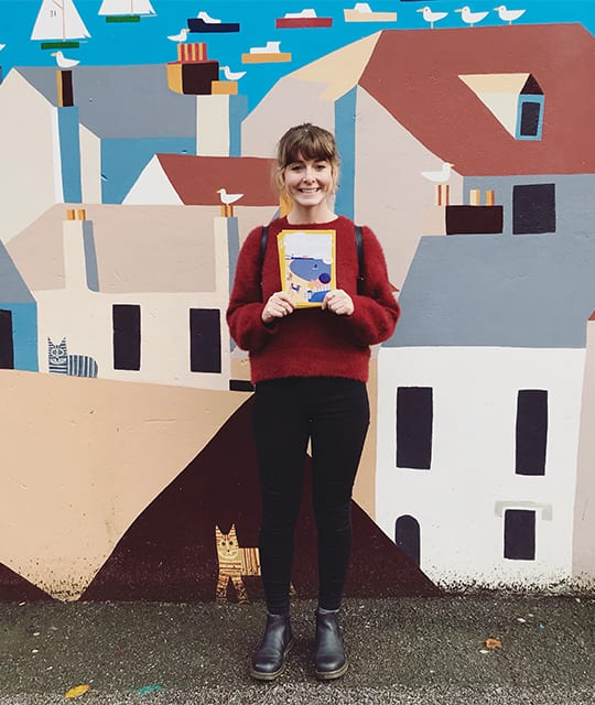 Hannah Bevan with InFalmouth Magazine