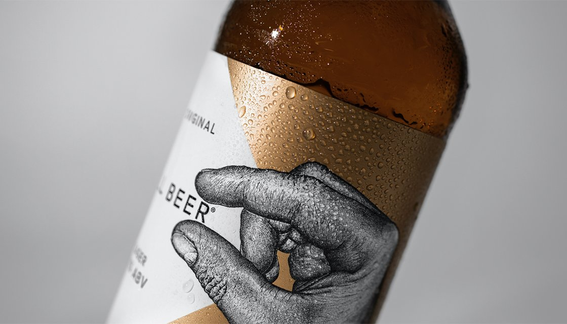 Small beer design and branding by Kingdom and Sparrow