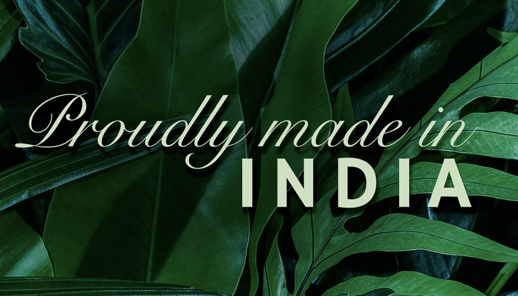 Tonic water proudly made in india graphic by Kingdom & Sparrow
