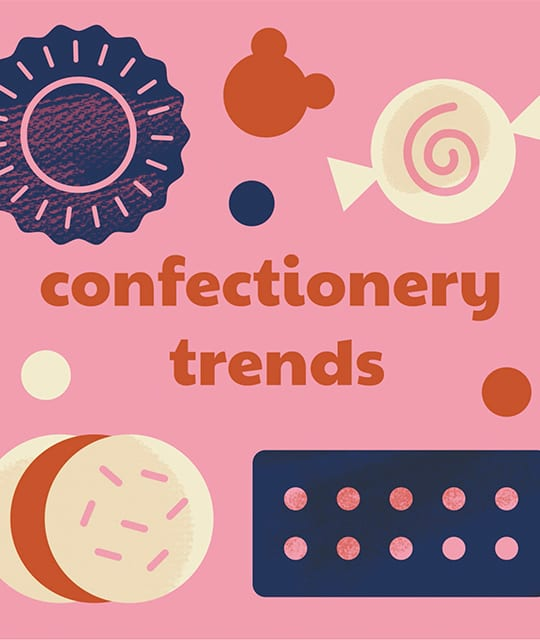 Sweets graphic confectionery trends