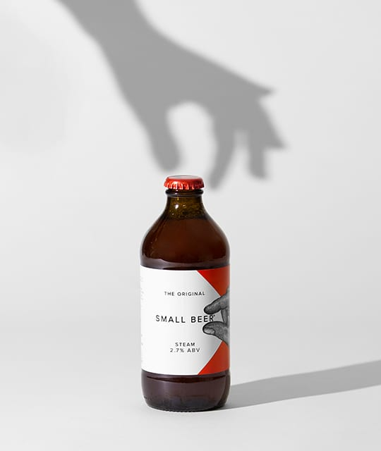Low alcohol Small Beer Branding