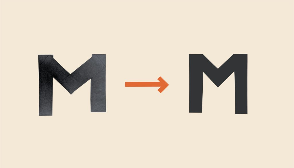 Custom typeface for Mission Coffee Works