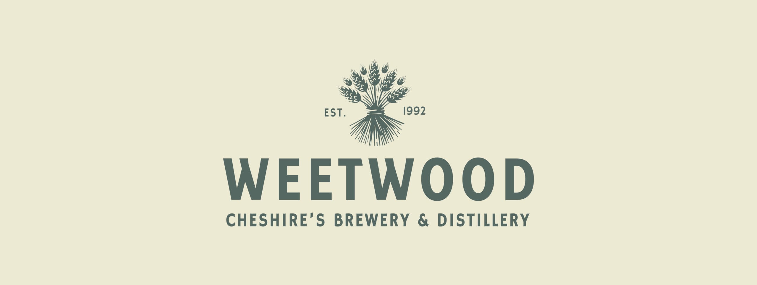 Weetwood brewery and distillery branding logo by Kingdom & Sparrow