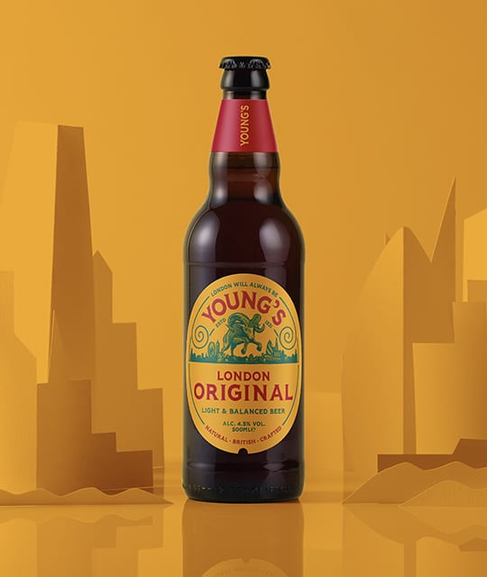 Young's Brewery Rebrand Kingdom & Sparrow
